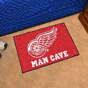 NHL - Detroit Red Wings Man Cave Starter Rug 19x30