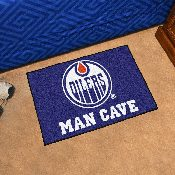 NHL - Edmonton Oilers Man Cave Starter Rug 19x30