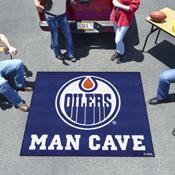 NHL - Edmonton Oilers Man Cave Tailgater Rug 5'x6'