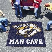 NHL - Nashville Predators Man Cave Tailgater Rug 5'x6'