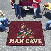 NHL - Arizona Coyotes Man Cave Tailgater Rug 5'x6'