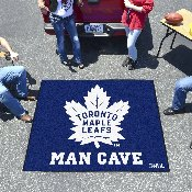 NHL - Toronto Maple Leafs Man Cave Tailgater Rug 5'x6'