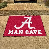 Alabama Man Cave All-Star Mat 33.75x42.5