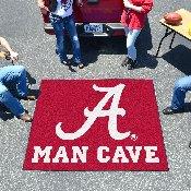 Alabama Man Cave Tailgater Rug 5'x6'