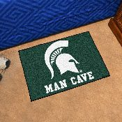 Michigan State Man Cave Starter Rug 19x30