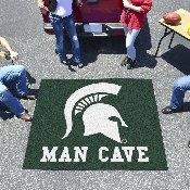 Michigan State Man Cave Tailgater Rug 5'x6'