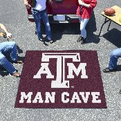 Texas A&M Man Cave Tailgater Rug 5'x6'