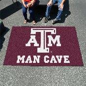 Texas A&M Man Cave UltiMat Rug 5'x8'
