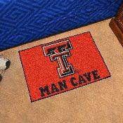 Texas Tech Man Cave Starter Rug 19x30