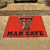 Texas Tech Man Cave All-Star Mat 33.75x42.5