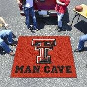 Texas Tech Man Cave Tailgater Rug 5'x6'