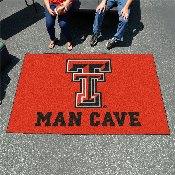 Texas Tech Man Cave UltiMat Rug 5'x8'