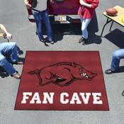 Arkansas Man Cave Tailgater Rug 5'x6'