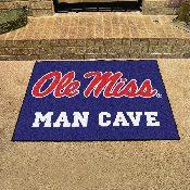 Mississippi - Ole Miss Man Cave All-Star Mat 33.75x42.5