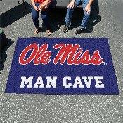 Mississippi - Ole Miss Man Cave UltiMat Rug 5'x8'