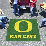 Oregon Man Cave Tailgater Rug 5'x6'