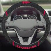 Arkansas Steering Wheel Cover 15x15