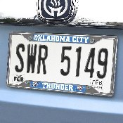 NBA - Oklahoma City Thunder License Plate Frame 6.25x12.25