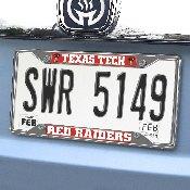 Texas Tech License Plate Frame 6.25x12.25