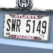 NFL - Atlanta Falcons License Plate Frame 6.25