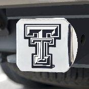 Texas Tech Hitch Cover 4 1/2x3 3/8