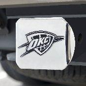 NBA - Oklahoma City Thunder Hitch Cover 4 1/2x3 3/8