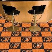 MLB - Baltimore Orioles Cartoon Bird Carpet Tiles 18x18 tiles