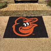MLB - Baltimore Orioles Cartoon Bird All-Star Mat 33.75x42.5