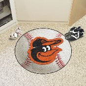 MLB - Baltimore Orioles Cartoon Bird Baseball Mat 27 diameter