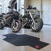 Ole Miss Motorcycle Mat 82.5 L x 42 W