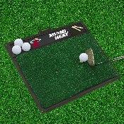 NBA - Miami Heat Golf Hitting Mat 20 x 17