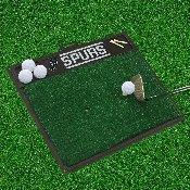 NBA - San Antonio Spurs Golf Hitting Mat 20 x 17