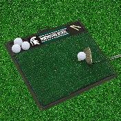 Michigan State Golf Hitting Mat 20 x 17