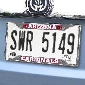 NFL - Arizona Cardinals License Plate Frame 6.25
