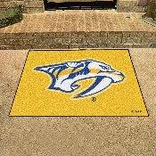 NHL - Nashville Predators Yellow Background All-Star Mat 33.75x42.5