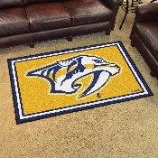 NHL - Nashville Predators Yellow Background Rug