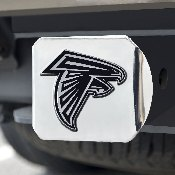 NFL - Atlanta Falcons Chrome Hitch - Chrome3.4