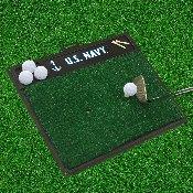 Navy Golf Hitting Mat 20x17