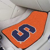 Syracuse 2-piece Carpeted Car Mats 17in x 27in