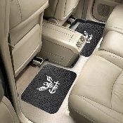Navy Backseat Utility Mat 2 Pack 14x17