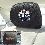 NHL - Edmonton Oilers Head Rest Cover 10