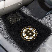 NHL - Boston Bruins 2-pc Embroidered Car Mats 18x27