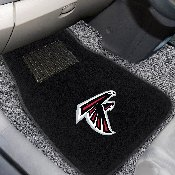 NFL - Atlanta Falcons 2-piece Embroidered Car Mats 18x27