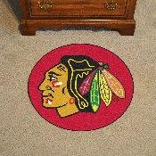 NHL - Chicago Blackhawks Puck Mat 29 round