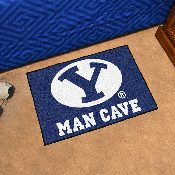Brigham Young Man Cave Starter Rug 19x30