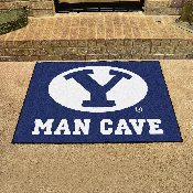 Brigham Young Man Cave All-Star Mat 33.75x42.5