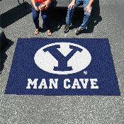 Brigham Young Man Cave UltiMat Rug 5'x8'