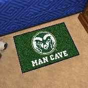 Colorado State Man Cave Starter Rug 19x30