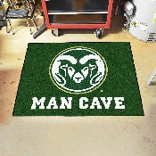 Colorado State Man Cave All-Star Mat 33.75x42.5