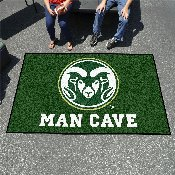 Colorado State Man Cave UltiMat Rug 5'x8'